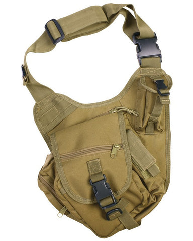 KombatUK Tactical Shoulder Bag - Coyote