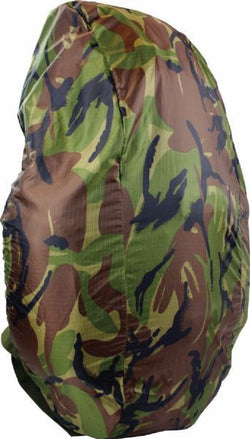 Highlander Medium Camo Rucksack Cover