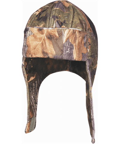 Jack Pyke Fleece Fieldman Hat - English Oak Camo