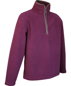 Jack Pyke Countryman Fleece Pullover - Burgundy