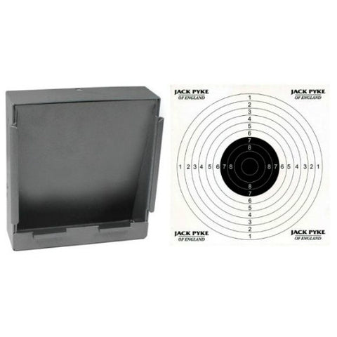 Jack Pyke Steel Paper Target Holder & Pellet Catcher