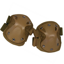 Viper Hard Shell Elbow Pads - Coyote