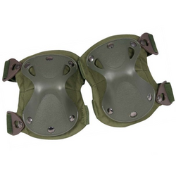 Viper Hard Shell Knee Pads - Green