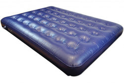 Highlander Blue PVC Double Airbed