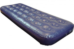 Highlander Blue PVC Single Airbed