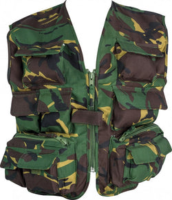 Highlander Kids Unlined Vest - British DPM