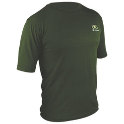 Highlander Climate X 160 Short Sleeved Olive Green T-Shirt
