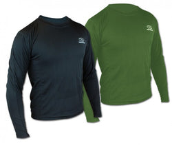 Highlander Climate X 160 Long Sleeved Olive Green T-Shirt