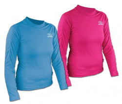 Highlander Climate X 160 Ladies Long Sleeved Blue T-Shirt