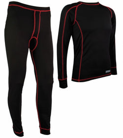 Highlander Pro 120 Black Mens Baselayer Set