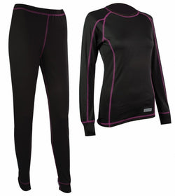 Highlander Pro 120 Black Ladies Baselayer Set
