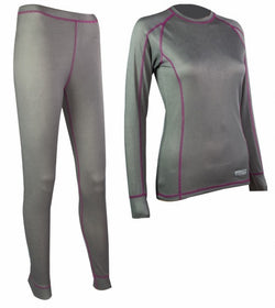 Highlander Pro 120 Grey Ladies Baselayer Set
