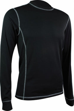 Highlander Thermo 160 Mens Long Sleeved Black Top