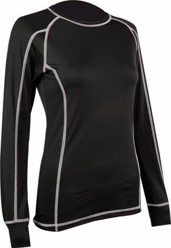Highlander Thermo 160 Ladies Long Sleeved Black Top