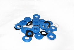 Tarpaflex 10mm Diameter Snap 'n' Tap Eyelets 10 Pack - Blue
