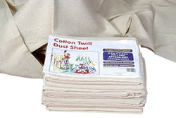 Tarpaflex Cotton Twill Dust Sheets