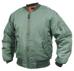 Milcom MA1 Flight Jacket - Olive Green