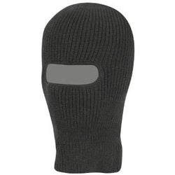 Milcom Open Face Balaclava - Black