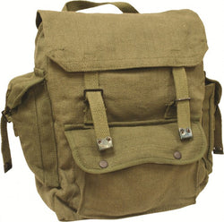 Highlander Large Olive Green Pocketed Web Backpack