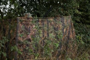 Jack Pyke Clearview Hide Net - English Woodland Camo