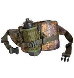 Jack Pyke Waist Bag with Bottle - English Oak Camo