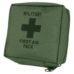 Milcom Military First Aid Kit - Olive Green