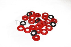 Tarpaflex 10mm Diameter Snap 'n' Tap Eyelets 10 Pack - Red