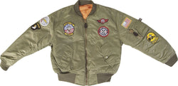 Milcom Kids MA1 Flight Jacket