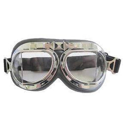 Milcom Flyers Goggles - Chrome