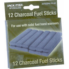 Jack Pyke Charcoal Fuel Sticks x12