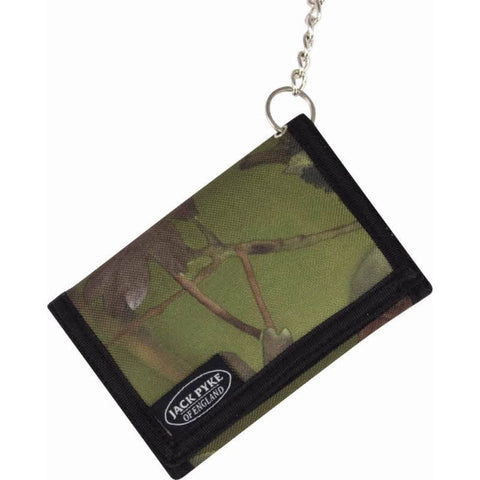 Jack Pyke Wallet on a Chain - English Woodland Camo