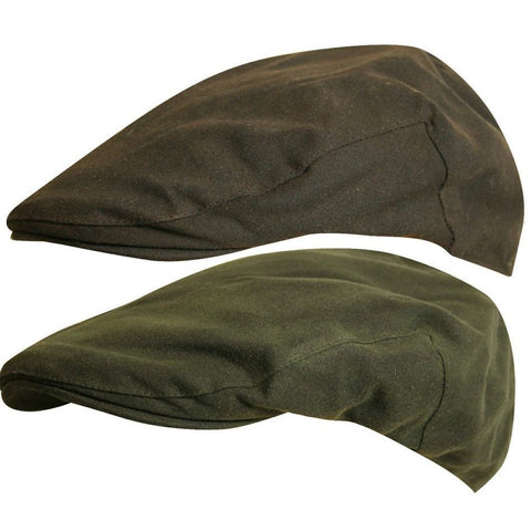 Jack Pyke Wax Flat Cap - Brown