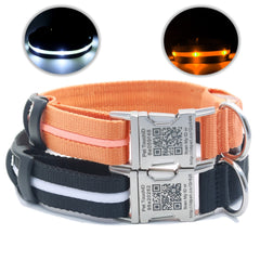 Pet TouchiD LED Smart ID collars