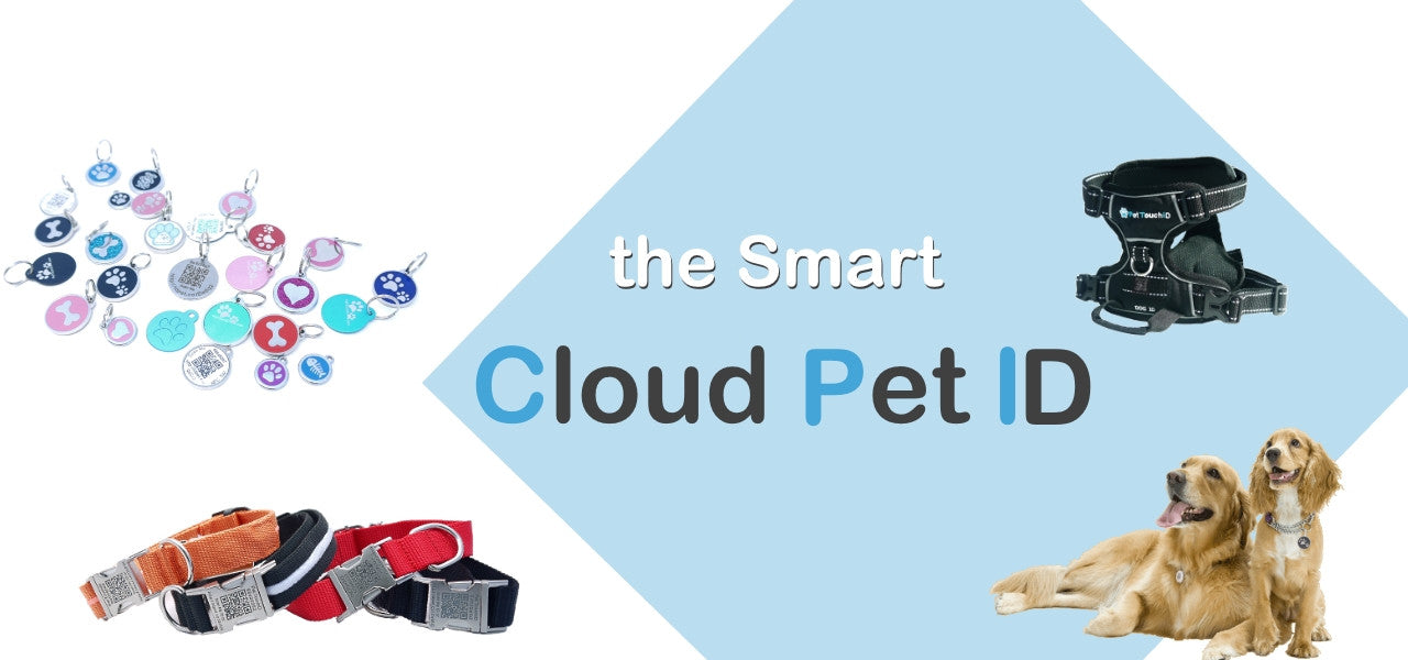 Pet TouchiD Smart Cloud Dog ID Tags