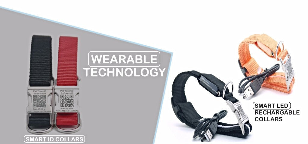 Pet TouchiD Wearable Technology Dog Collars
