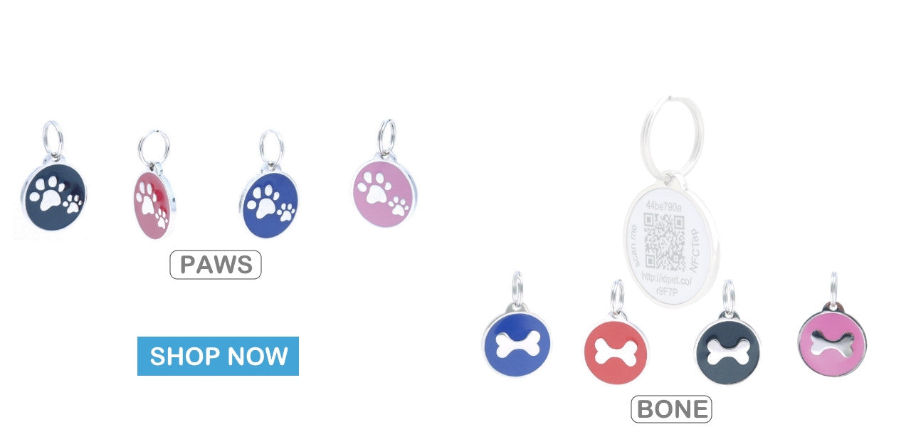 Pet TouchiD Smart Pet ID Tag Collections