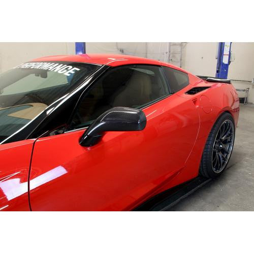 APR CF Replacement Mirrors C7 2014+ - Black Ops Auto Works