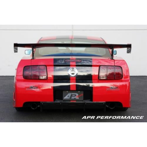 APR CF GTC-500 Wing: Mustang S197 05-09 - Black Ops Auto Works