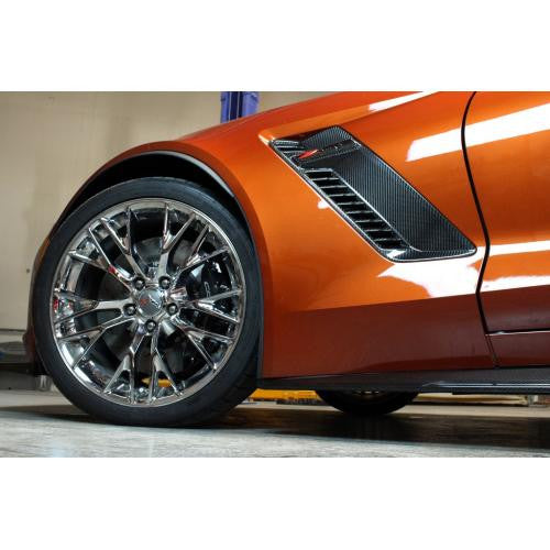 APR CF Fender Vents: C7 Z06 15+ - Black Ops Auto Works