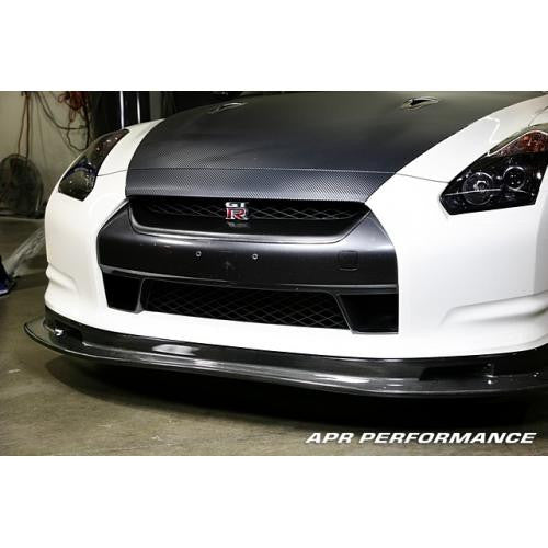 APR CF Front Air Dam: R35 08+ - Black Ops Auto Works