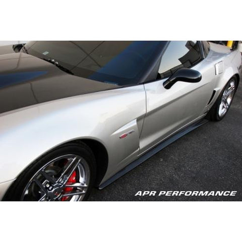 APR CF Side Rocker Extensions C6 2006+
