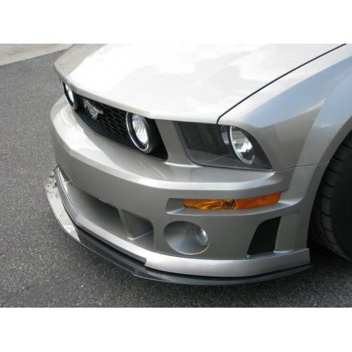 APR CF Front Splitter: Mustang-Roush 05-09 - Black Ops Auto Works