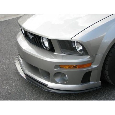 APR CF Front Splitter Mustang-Roush 05-09