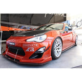 APR CF Front Bumper Canards: FR-S 13+ - Black Ops Auto Works