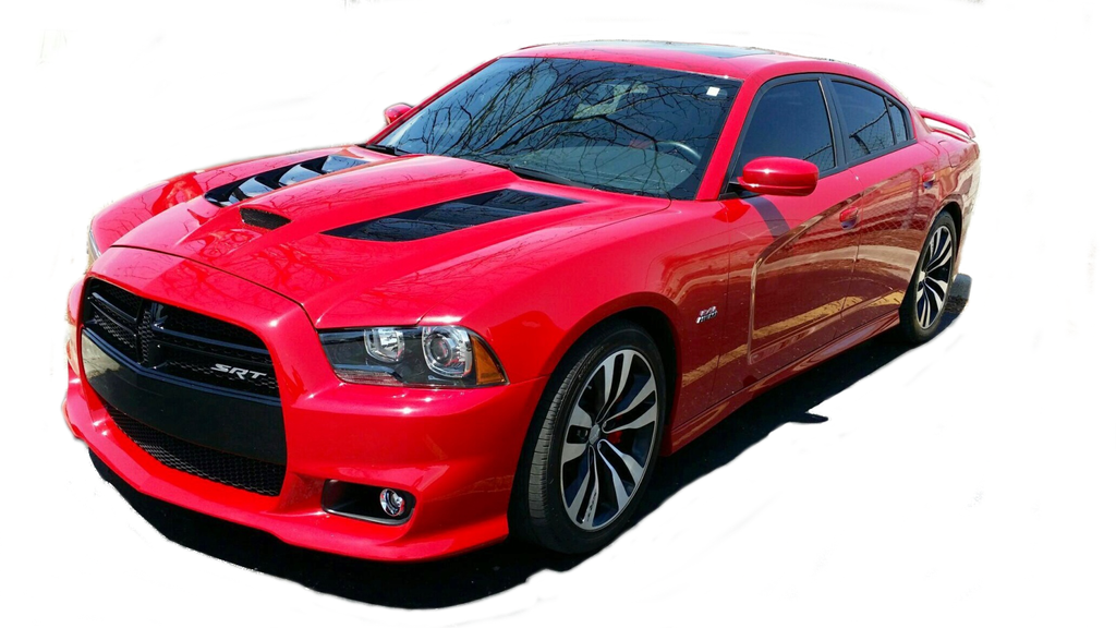 CF 'Sniper 2.0' Hood: Charger 2011-14 - Black Ops Auto Works