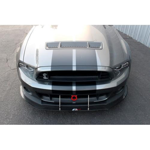 APR CF Front Splitter: Mustang GT-500 11-14 - Black Ops Auto Works