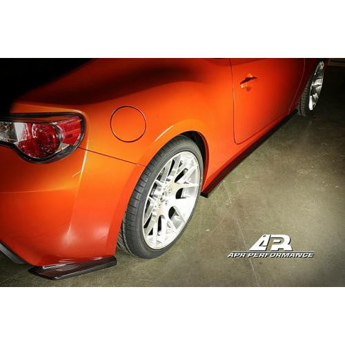 APR CF Rear Bumper Skirts FRS/BRZ 13+ - Black Ops Auto Works