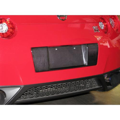 APR CF License Plate Backing R35 2008+