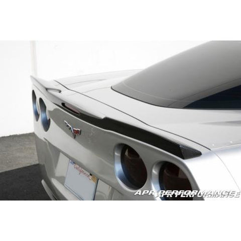 APR CF Rear Deck Spoiler C6 2005+