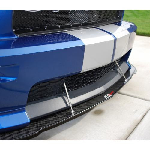 APR CF California Special Splitter: Mustang 05-09 - Black Ops Auto Works